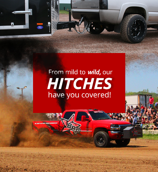 From mild to wild, our HITCHES have you covered!