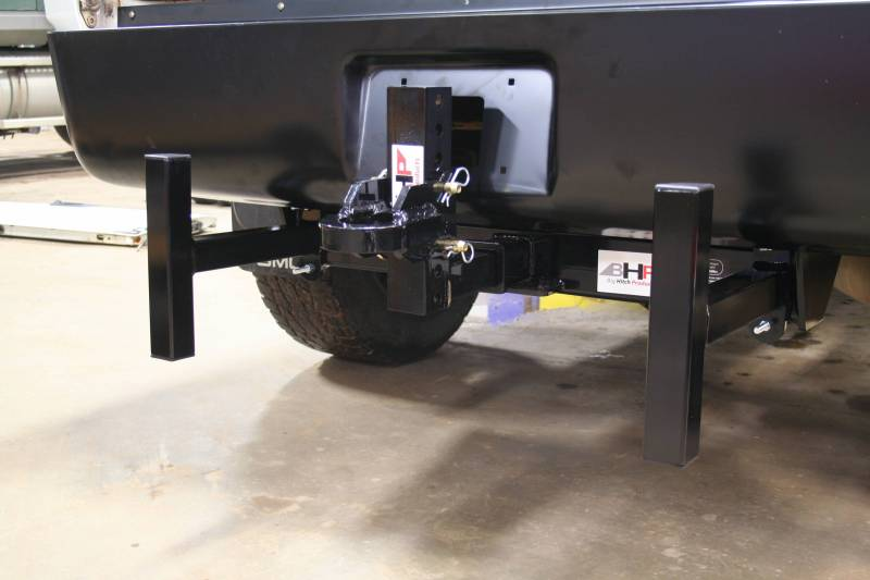 Adjustable Hitch Receiver >> BHP Clamp On Sled Stops - BELOW Roll Pan