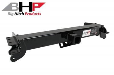 Big Hitch Products - BHP 11-19 LML GM Short Box BEHIND Roll Pan 2 inch Hidden Receiver Hitch