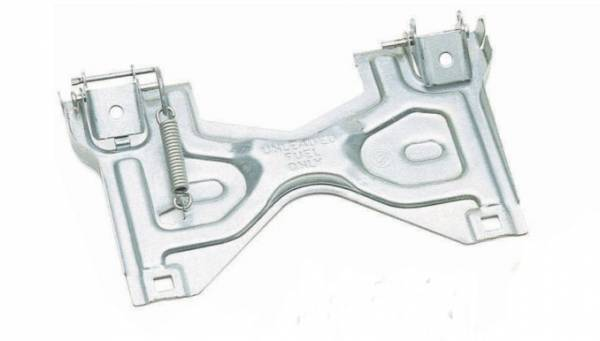 Big Hitch Products - Flip Up License Plate Bracket