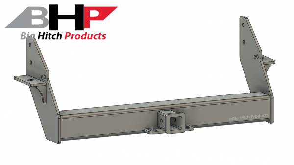 Big Hitch Products - BHP 03-18 Dodge Short/Long Bed Stock Bumper 2 inch Receiver Hitch