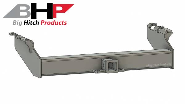 Big Hitch Products - BHP 94-02 Dodge Short/Long Box BELOW Stock Bumper 2 inch Receiver Hitch