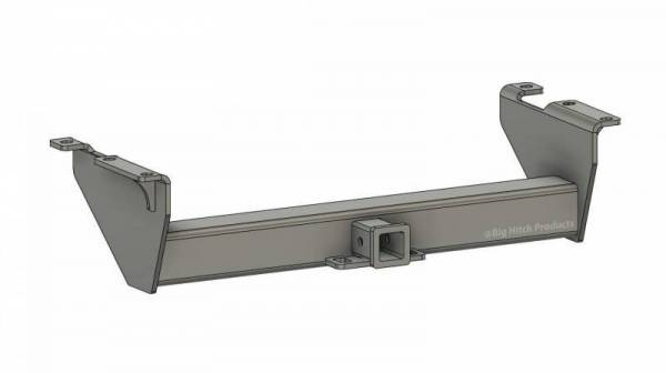 Big Hitch Products - BHP 07.5-10 GM Long Box BELOW Roll Pan 2 inch Receiver Hitch