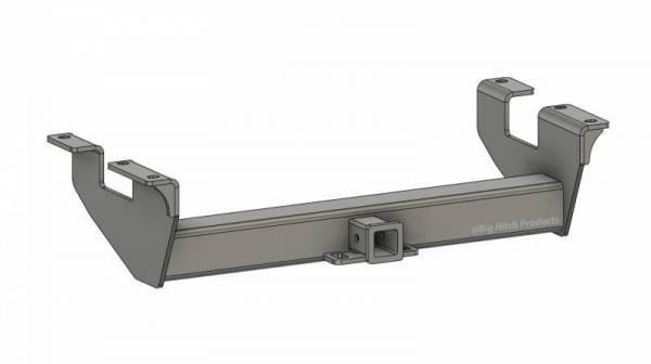 Big Hitch Products - BHP 11-19 GM Long Box BELOW Roll Pan 2 inch Receiver Hitch