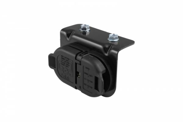 Big Hitch Products - GM 7 & 4 Pole Trailer Connector Socket w/Mounting Bracket