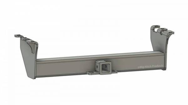 Big Hitch Products - BHP 94-02 Dodge Short/Long Box BELOW Roll Pan 2 inch Receiver Hitch
