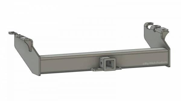 Big Hitch Products - BHP 94-02 Dodge Short/Long Box BELOW Stock Bumper 2 inch Receiver Hitch