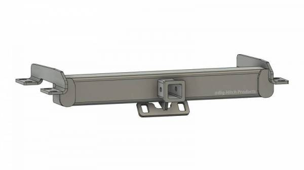 Big Hitch Products - BHP 99-16 Ford Short/Long Bed BEHIND Roll Pan 2 inch Hidden Receiver Hitch