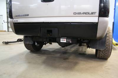 Big Hitch Products - BHP 01-07 GM Short Box BELOW Roll Pan 2 inch Receiver Hitch - Image 2