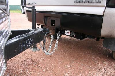 Big Hitch Products - BHP 01-07 GM Short Box BELOW Roll Pan 2 inch Receiver Hitch - Image 4