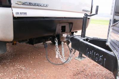 Big Hitch Products - BHP 01-07 GM Long Box BELOW Roll Pan 2 inch Receiver Hitch - Image 5
