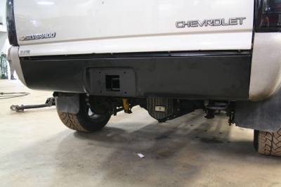 Big Hitch Products - BHP 01-10 GM Long Box BEHIND Roll Pan 2 inch Hidden Receiver Hitch - Image 2