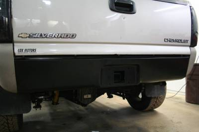 Big Hitch Products - BHP 01-10 GM Long Box BEHIND Roll Pan 2 inch Hidden Receiver Hitch - Image 3