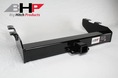 Below Stock Bumper Receiver - Big Hitch Products - BHP 01-07 GM Short Box Stock Bumper 2 inch Receiver Hitch