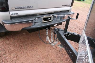 Big Hitch Products - BHP 01-10 GM Long Box Stock Bumper 2 inch Receiver Hitch - Image 3