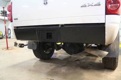 Big Hitch Products - BHP 03-14 Dodge Short/Long Bed BEHIND Roll Pan 2 inch Hidden Receiver Hitch - Image 2