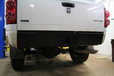 Big Hitch Products - BHP 03-18 Dodge Short/Long Bed BEHIND Roll Pan 2 inch Hidden Receiver Hitch - Image 3