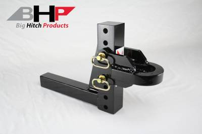 Adjustable Hitch - Big Hitch Products - BHP Adjustable Pulling Hitch - 2 inch