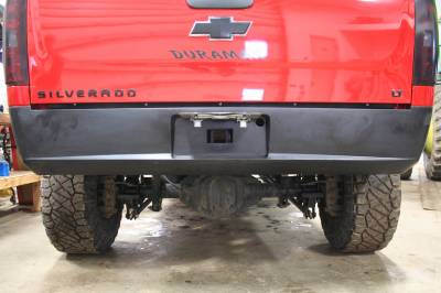 Big Hitch Products - BHP 11-19 LML GM Short Box BEHIND Roll Pan 2 inch Hidden Receiver Hitch - Image 3