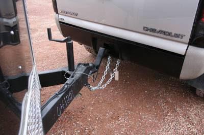Big Hitch Products - BHP 99-18 GM Short Box BEHIND Roll Pan 2 inch Hidden Receiver Hitch - Image 4