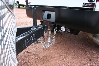 Big Hitch Products - BHP 07.5-10 GM Long Box BELOW Roll Pan 2 inch Receiver Hitch - Image 4