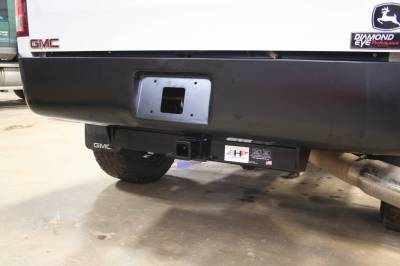 Big Hitch Products - BHP 07.5-10 GM Long Box BELOW Roll Pan 2 inch Receiver Hitch - Image 2