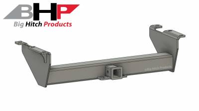 Big Hitch Products - BHP 07.5-10 GM Long Box BELOW Roll Pan 2 inch Receiver Hitch - Image 1