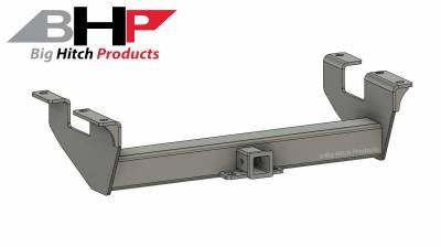 Big Hitch Products - BHP 11-19 GM Long Box BELOW Roll Pan 2 inch Receiver Hitch
