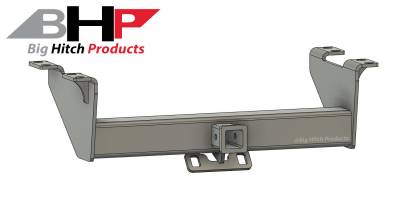 Big Hitch Products - BHP 99-16 Ford Short/Long Bed BELOW Roll Pan 2 inch Receiver Hitch