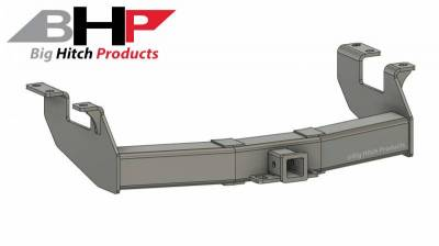 Big Hitch Products - BHP 11-19 GM Stock Bumper 2 inch Receiver Hitch