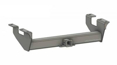 Below Roll Pan Receiver - Big Hitch Products - BHP 11-19 GM Long Box BELOW Roll Pan 2 inch Receiver Hitch