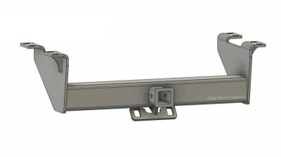 Below Roll Pan Receiver - Big Hitch Products - BHP 99-16 Ford Short/Long Bed BELOW Roll Pan 2 inch Receiver Hitch