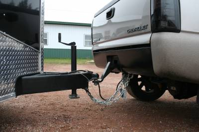 Big Hitch Products - BHP 01-10 GM BEHIND Roll Pan 2 inch Hidden Receiver Hitch - Image 4