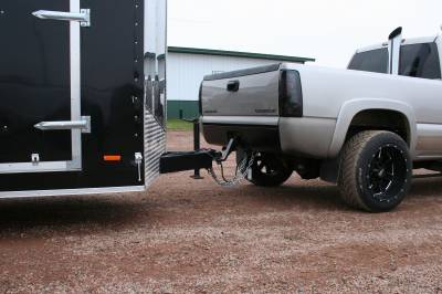 Big Hitch Products - BHP 01-10 GM BEHIND Roll Pan 2 inch Hidden Receiver Hitch - Image 7