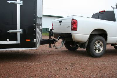 Big Hitch Products - BHP 03-18 Dodge Short/Long Bed BEHIND Roll Pan 2 inch Hidden Receiver Hitch - Image 2