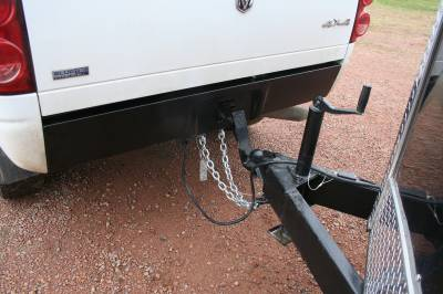 Big Hitch Products - BHP 03-18 Dodge Short/Long Bed BEHIND Roll Pan 2 inch Hidden Receiver Hitch - Image 4