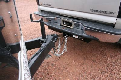Big Hitch Products - BHP 01-10 GM Stock Bumper 2 inch Receiver Hitch - Image 5