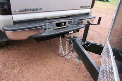Big Hitch Products - BHP 01-10 GM Stock Bumper 2 inch Receiver Hitch - Image 7